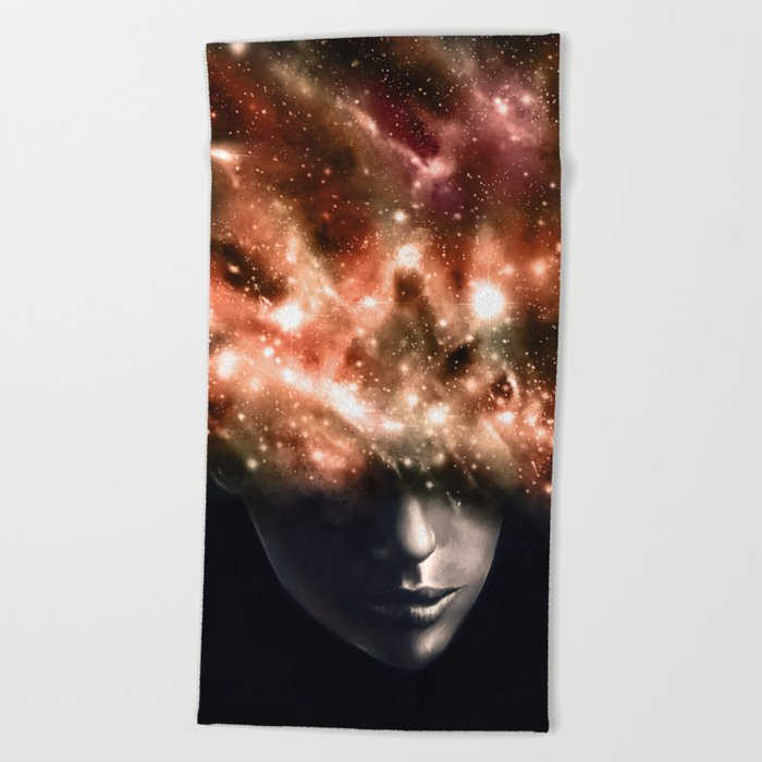 Everything I See Beach Towel