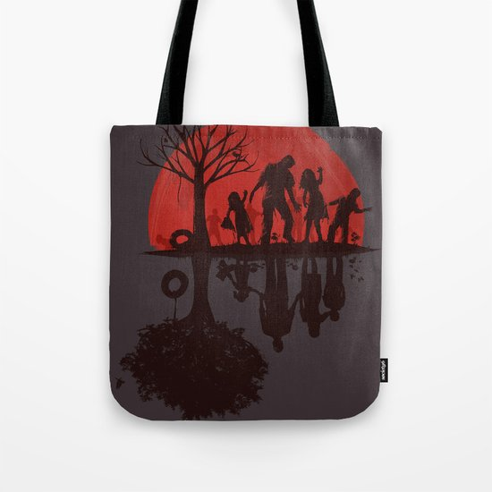 A Family Once (dark version) Tote Bag