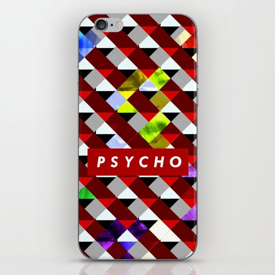 PSYCHO iPhone & iPod Skin