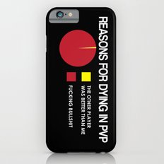 Reasons for Dying in PVP iPhone 6s Slim Case