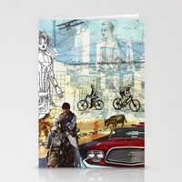 technology Stationery Cards featuring  Transportation  technology by Design4u Studio