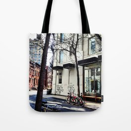 Bike in the West Village Tote Bag