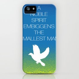 A Nobel Spirit... iPhone Case