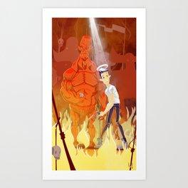 Need for backup? Art Print