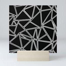 Shattered Ab Zoom Mini Art Print
