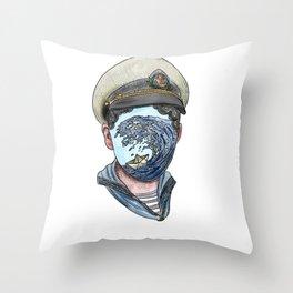 little sailor Throw Pillow