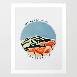 California Print Art Print