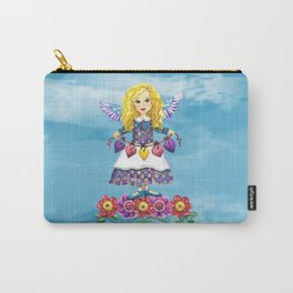 Angel Love (Turquoise) Carry-All Pouch