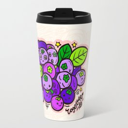 Team Blueberries (Coloured) Travel Mug