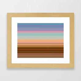 Pulling Eyes Framed Art Print