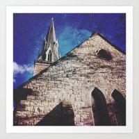 spires Art Prints featuring SPIRES by Katie Delz