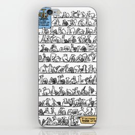 100 Squirrels... no meaning iPhone Skin