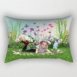 Fairy Ring Enchantment Rectangular Pillow