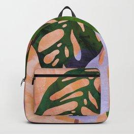 indoor plant #1 monstera obliqua Backpack