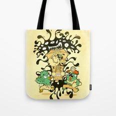 Clockwork parasite Tote Bag