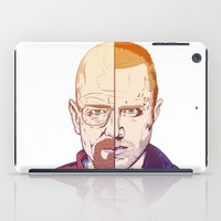 breaking bad iPad Cases featuring Breaking Bad by Connick Illustrations
