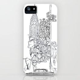 Newyorkers 2 iPhone Case