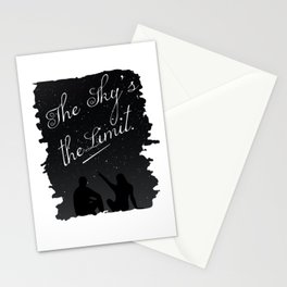 The Sky's the Limit Stationery Cards