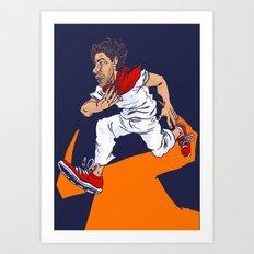 Bull Run Art Print