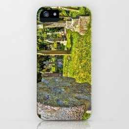St. Mylor Church - Headstones iPhone Case