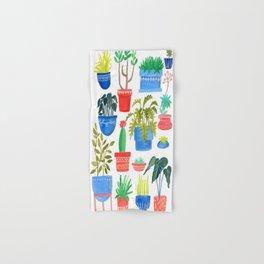 House Plants Hand & Bath Towel
