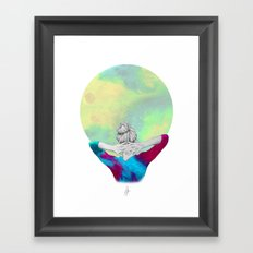 Cosmic Girl Framed Art Print