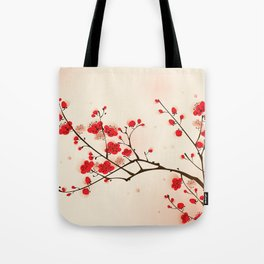 Oriental plum blossom in spring 009 Tote Bag