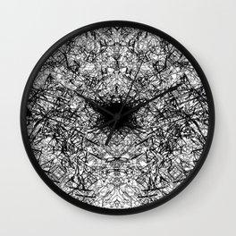 Azuneo City #1 -Black Wall Clock