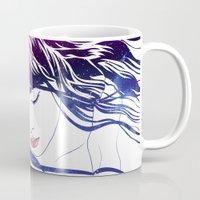 celestial Mugs featuring Celestial IV by Stevyn Llewellyn