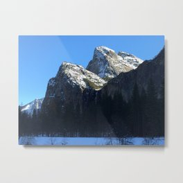 The Mass of the Cathedral Rocks Metal Print