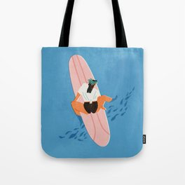 Ocean Tote Bag Nautical Tote Bag Surfer Girl Surf Party Tote Bag Surfing Tote Bag Beach Bag