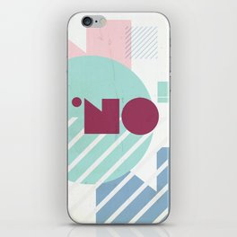 NO! iPhone Skin