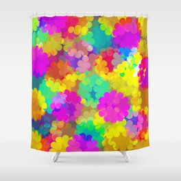 The Colors of Life Shower Curtain