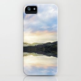 Llyn Padarn iPhone Case