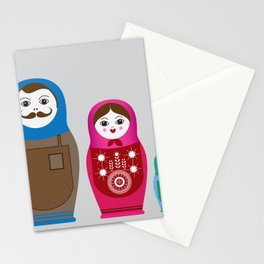 Nesting Family Stationery Cards
