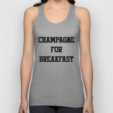 Champagne For Breakfast Unisex Tank Top