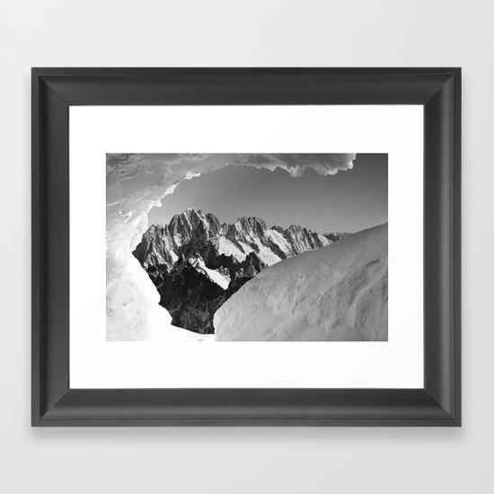 French Alps, Chamonix, France. (1) Framed Art Print