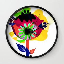 Fleurs 03 Wall Clock