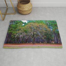 Pine Tree Landscape Rug