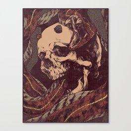 The Ouroboros of Yorick Canvas Print