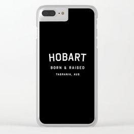 Hobart - TAS, AUS Clear iPhone Case