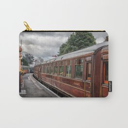 Vintage Carriage Carry-All Pouch