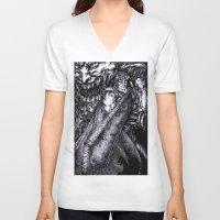 berserk V-neck T-shirts featuring Berserk by lcillustrations