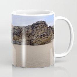 Godrecy Beach Cornwall Engand Coffee Mug