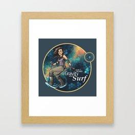 Gravity and Surf Framed Art Print