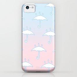 True Pastel Umbrellas iPhone Case