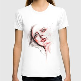 Blood red tears T-shirt