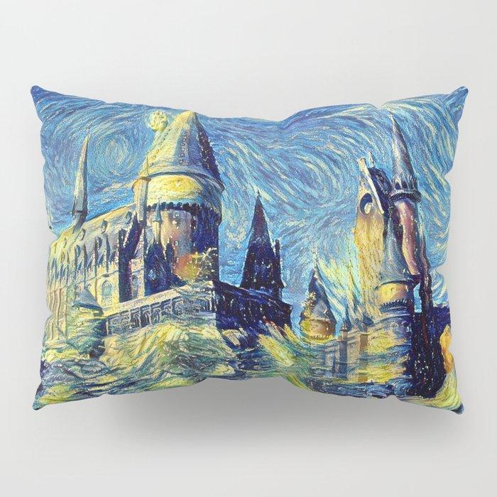 Hogwarts Starry Night Pillow Sham