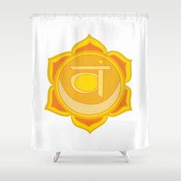 Sacral Chakra Svadhishthana Chakra Shower Curtain