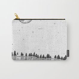 Stargazing on the lake Carry-All Pouch